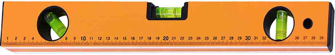Уровень упрочненный Toolberg, 2503110, оранжевый, 1000 мм
