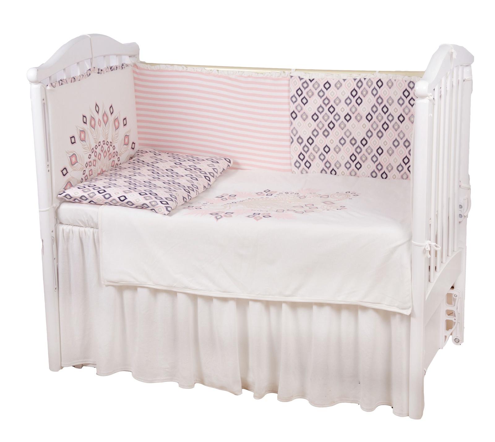 """Комплект в кроватку Childberry """"Жар-Птица"""" из 6 предметов + пижама в подарок"""