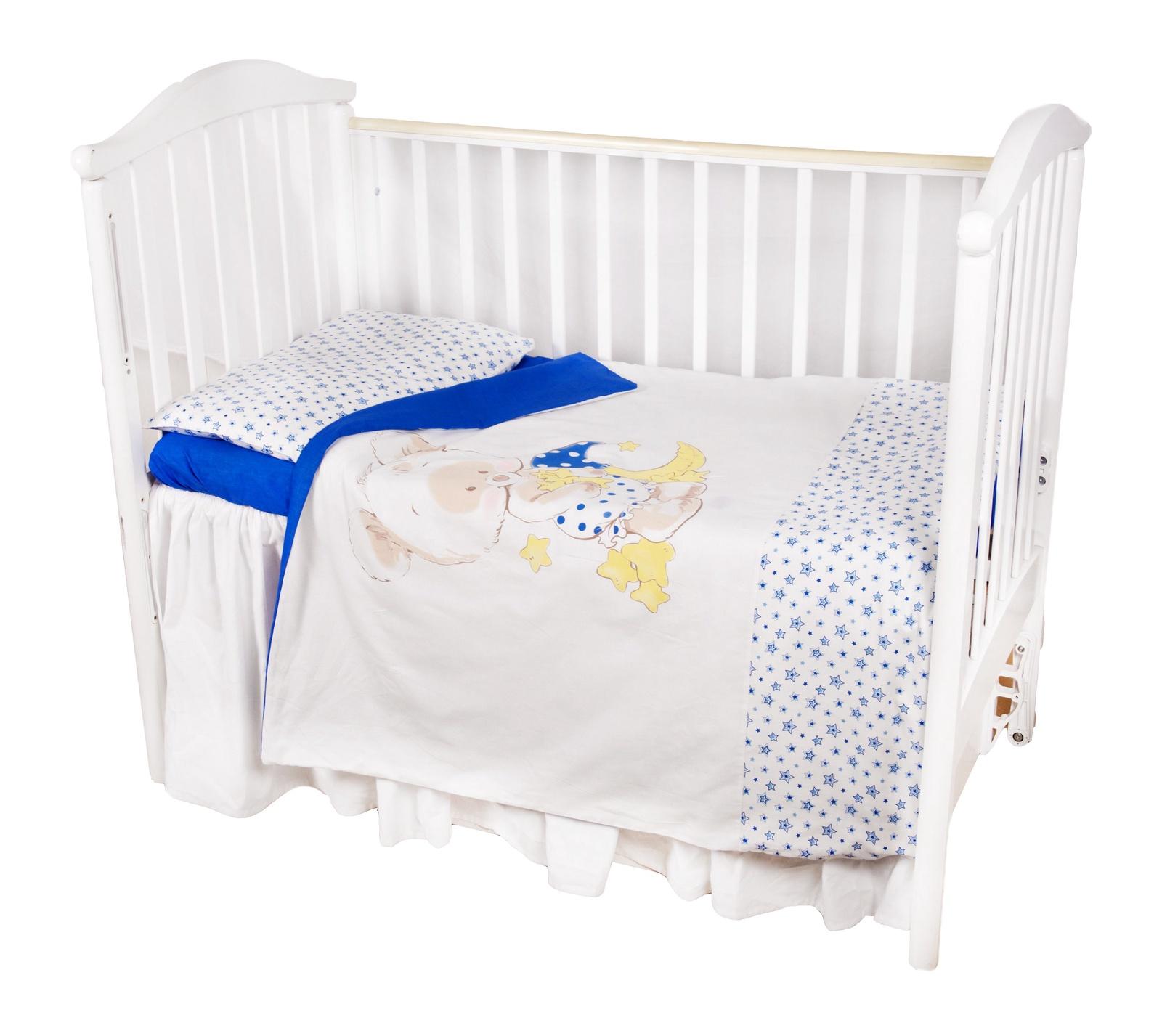 """Комплект в кроватку Childberry """"Луна"""" из 3 предметов"""