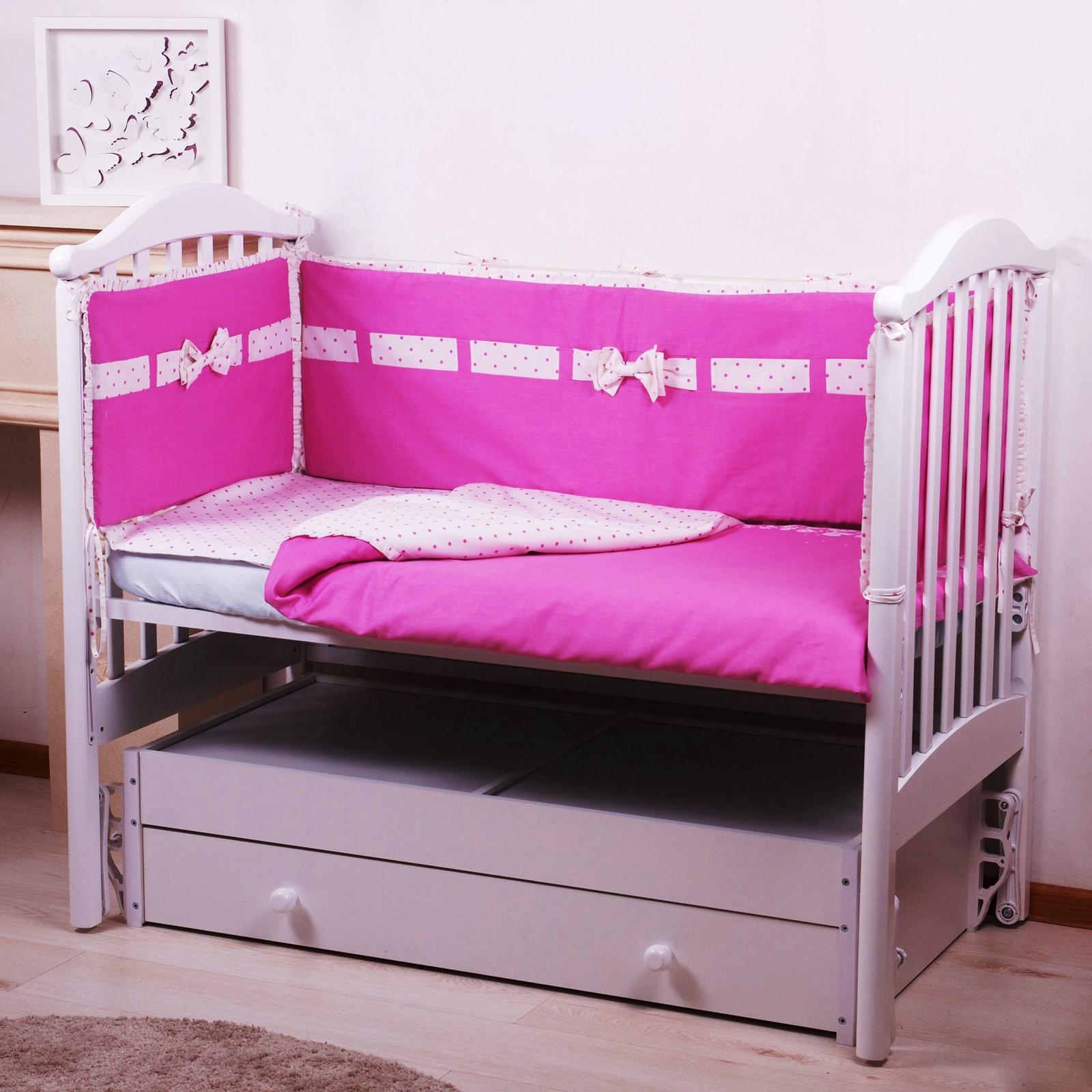 """Комплект в кроватку Childberry """"Бантик"""" из 6 предметов"""