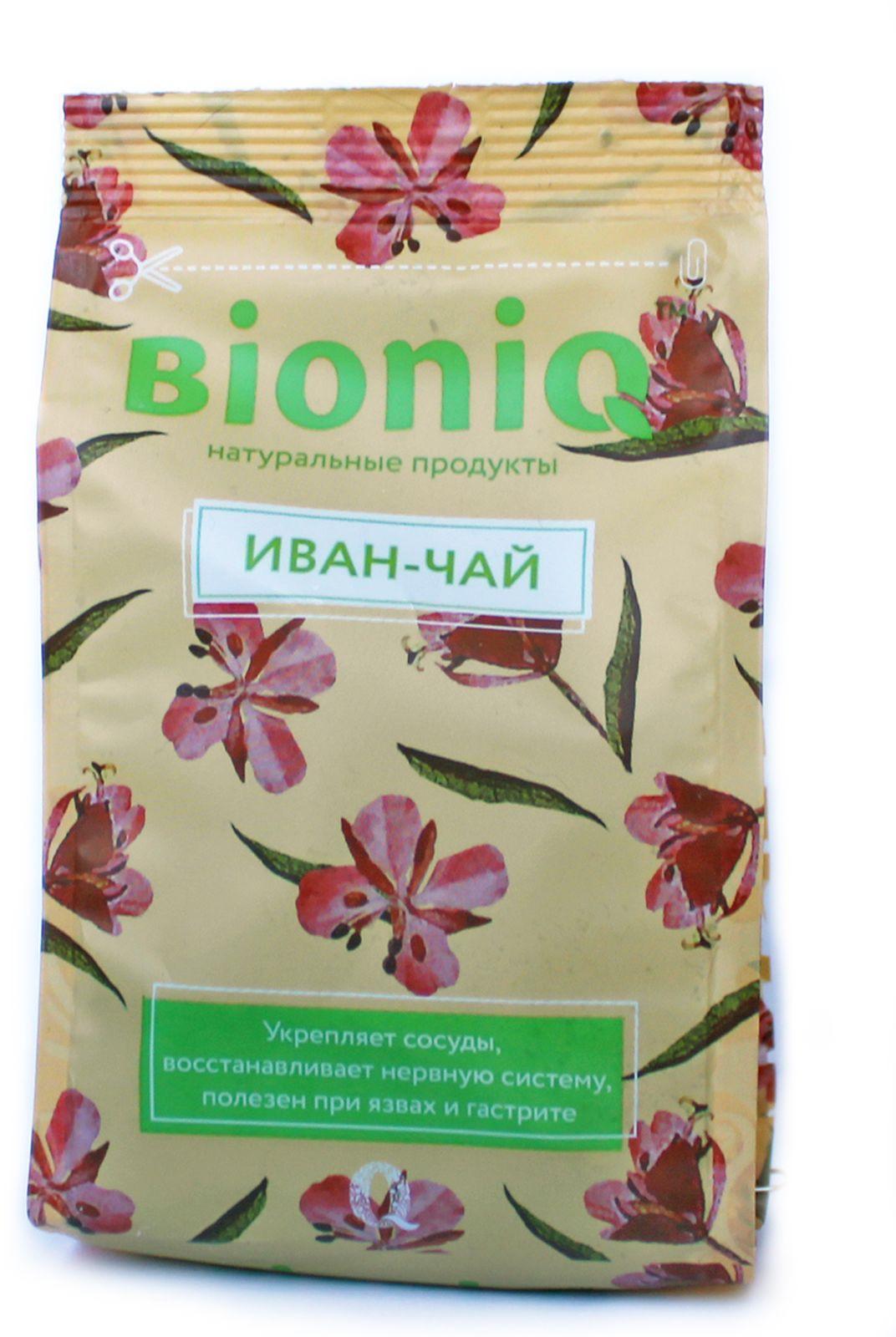 Иван-чай BioniQ, 35 г компот bioniq смородиновый 0 48 0 5 л