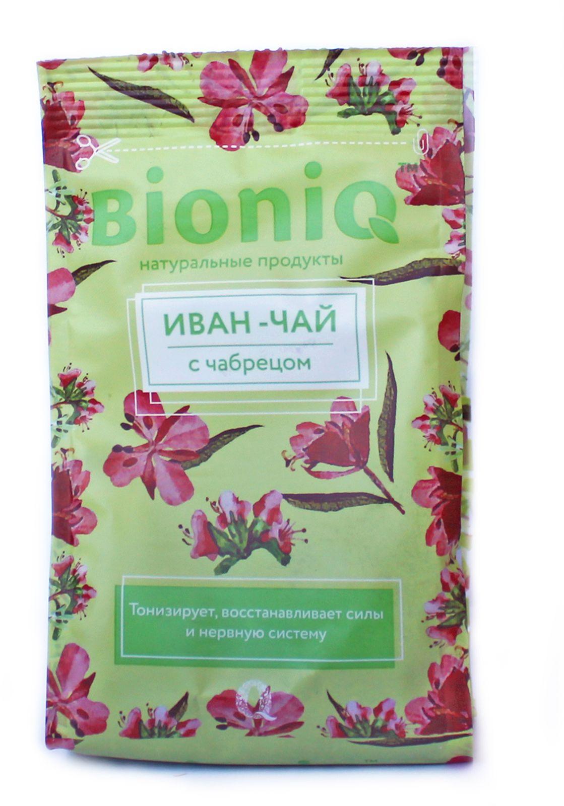 Иван-чай BioniQ, с чабрецом, 35 г компот bioniq смородиновый 0 48 0 5 л