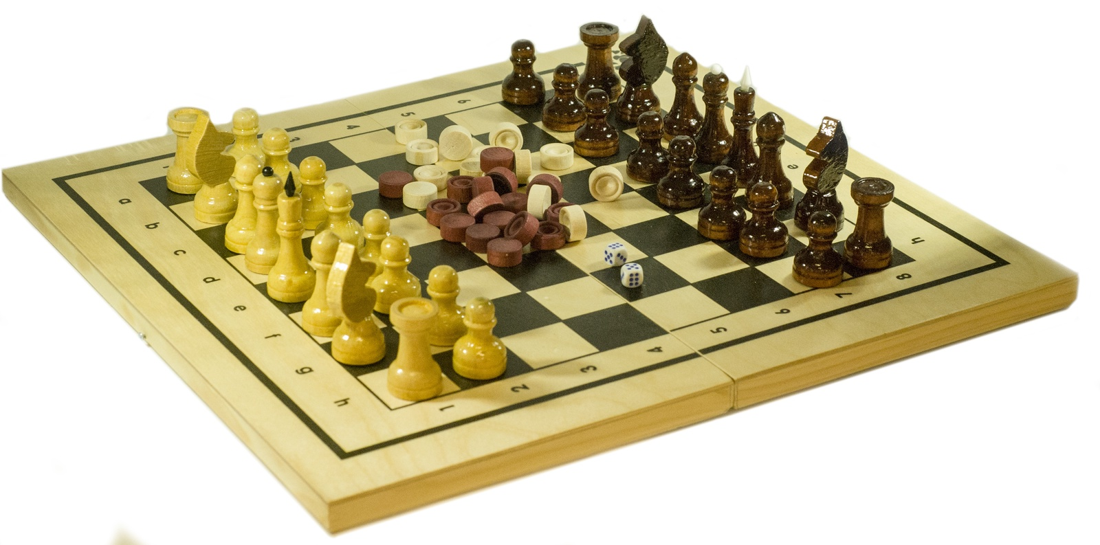 Настольная игра 2 в 1 Шахматы и нарды настольная игра нарды шахматы нарды малые деревянные в ассортименте в 1