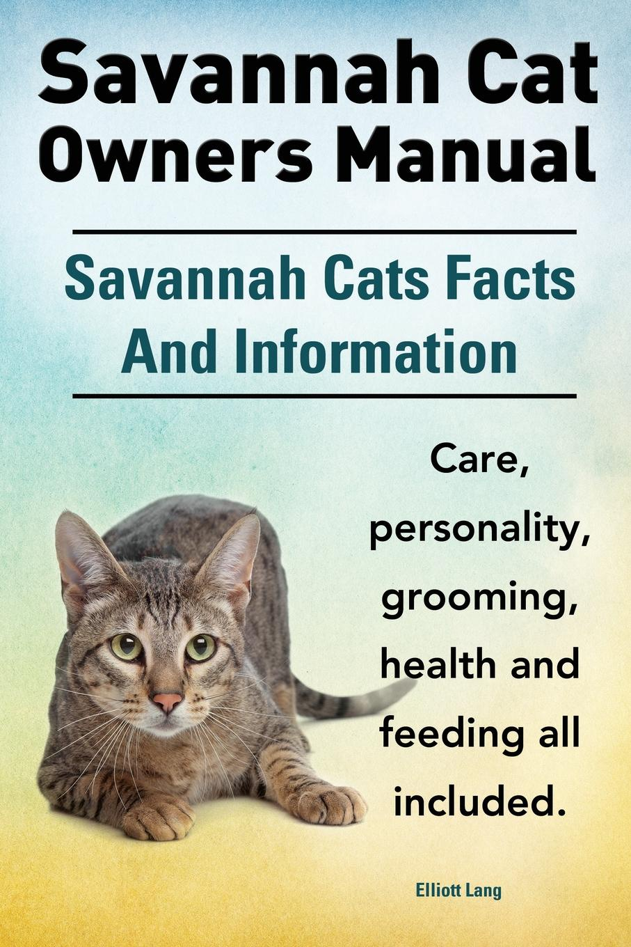 Elliott Lang Savannah Cat Owners Manual. Savannah Cats Facts and Information. Savannah Cat Care, Personality, Grooming, Health and Feeding All Included. цена в Москве и Питере