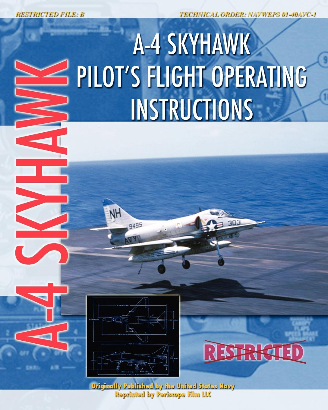 United States Air Force A-4 Skyhawk Pilot's Flight Operating Instructions