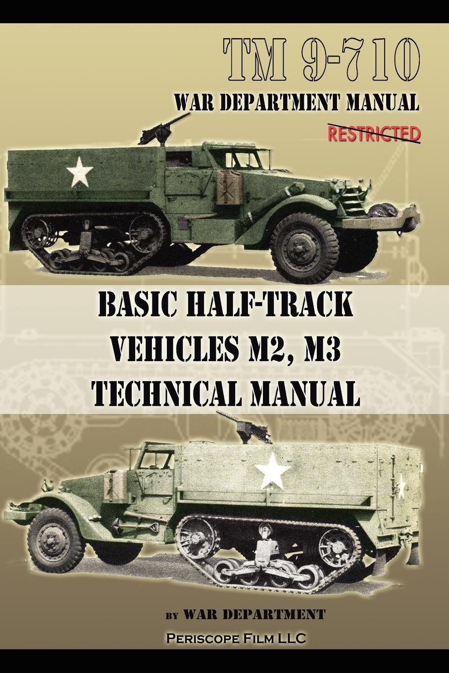 War Department Basic Half-Track Vehicles M2, M3 Technical Manual lace hollow design crew neck long sleeves dress in white