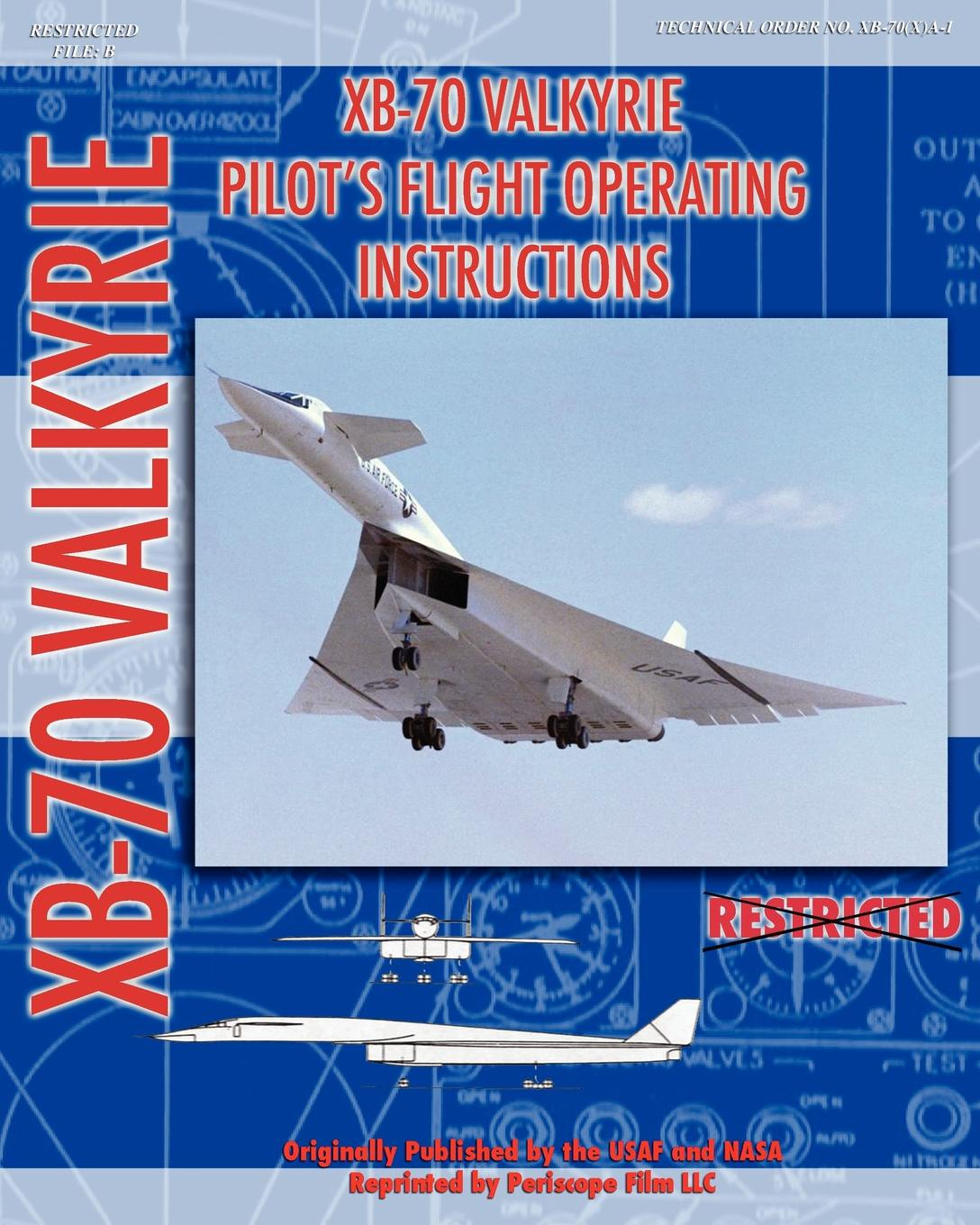 United States Air Force, NASA XB-70 Valkerie Pilot's Flight Operating Manual