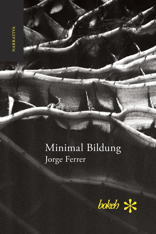 Jorge Ferrer Minimal Bildung. Veintinueve escenas para una novela sobre la inercia y el olvido pablo urcelay una exhalacion de psicodelia