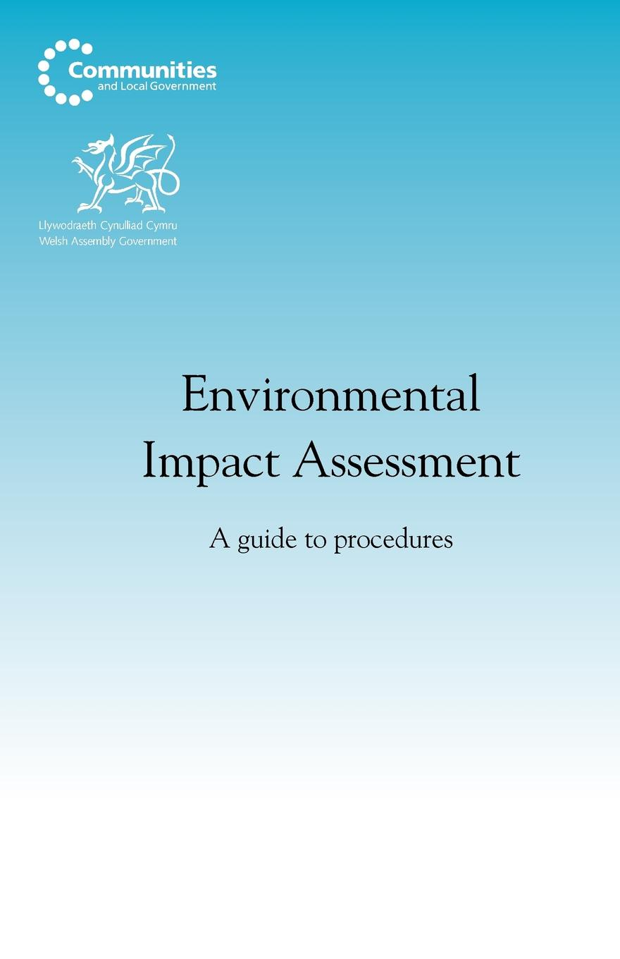 Фото - Environmental Impact Assessment. A Guide to Procedures m tauhid ur rahman an environmental impact assessment for proposed housing development