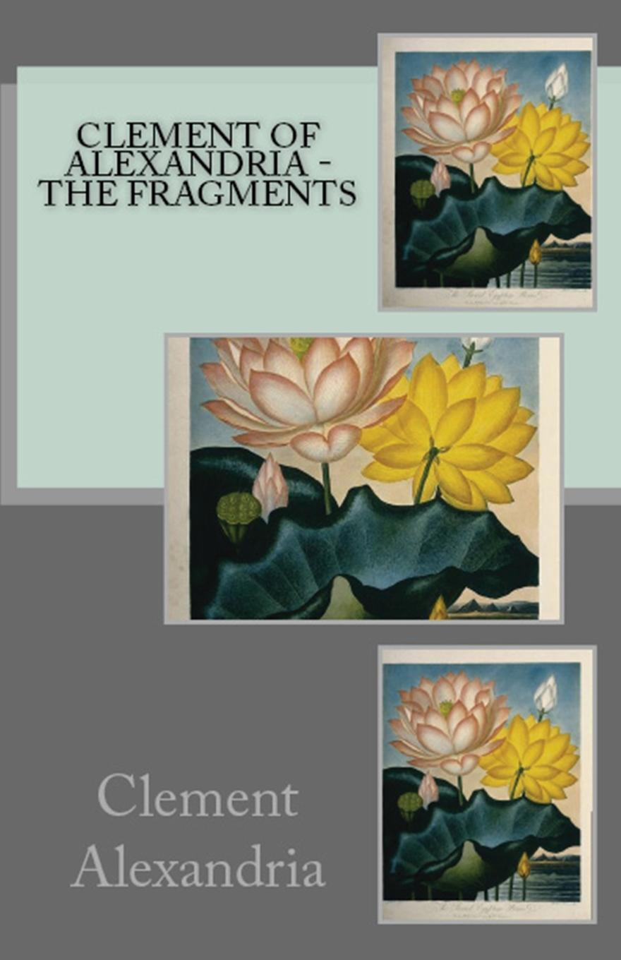 Clement of Alexandria The Fragments feher zone 5 – fragments for a history of the human body – part 3 paper