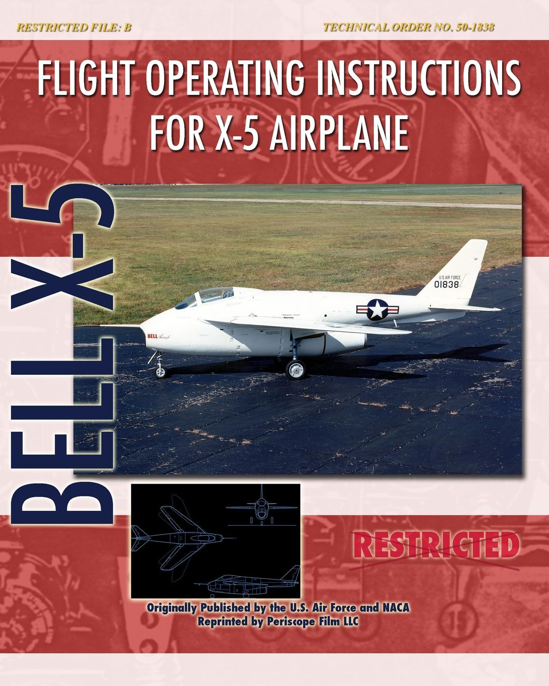 United States Air Force Flight Operating Instructions for X-5 Airplane