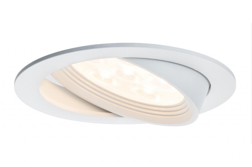 Комплект встраиваемых светильников Albina schw LED 3x7,2W, белый матовый