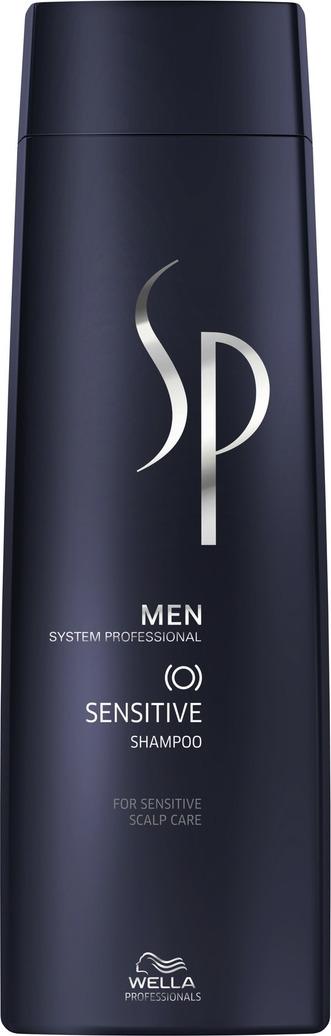 Wella SP Шампунь для чувствительной кожи головы Men Sensitive Shampoo, 250 мл cutrin sensitive fragrance free foam shampoo шампунь пена для окрашенных волос и чувствительной кожи головы 150 мл