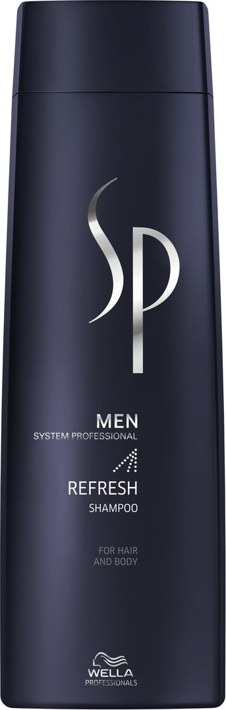Wella SP Освежающий шампунь Men Refresh Shampoo, 250 мл