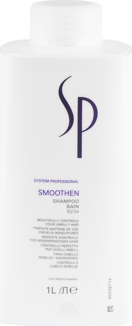 Wella SP Шампунь для гладкости волос Smoothen Shampoo, 1000 мл wella sp smoothen mask маска для гладкости волос 200 мл