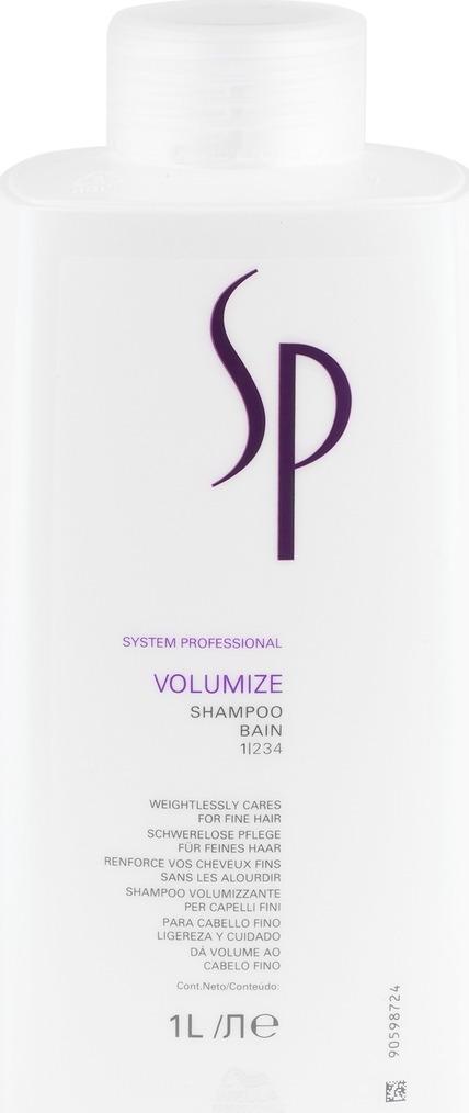 Wella SP Шампунь для придания объема Volumize Shampoo, 1000 мл шампунь от велла