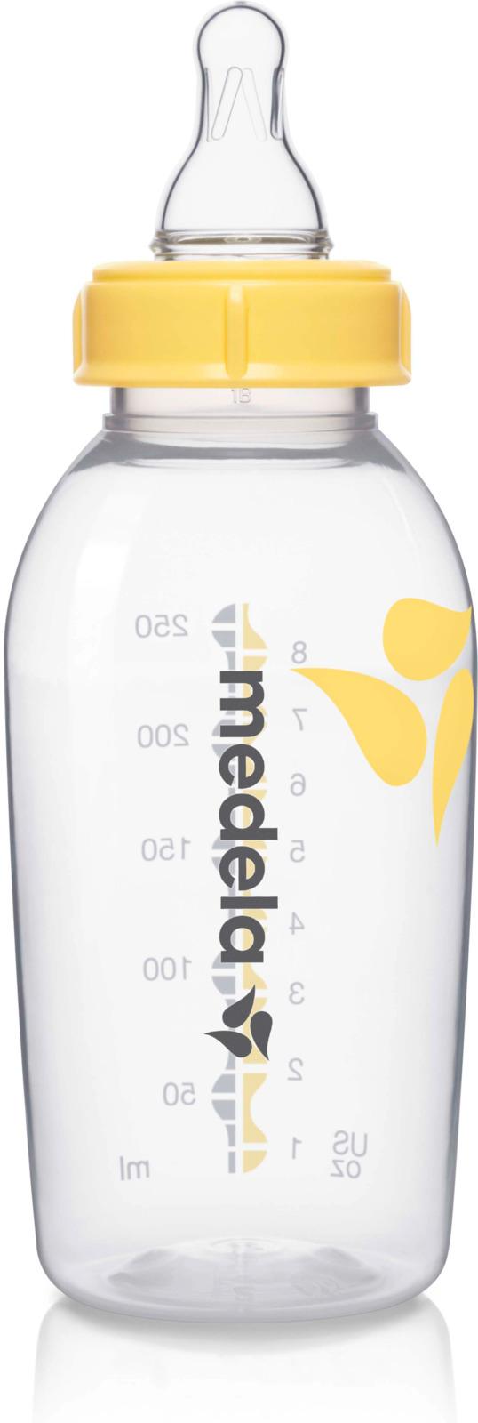 Бутылочка-контейнер Medela для сбора грудного молока, 250 мл бутылочки medela бутылочка medela с силиконовой соской с рождения 150 мл