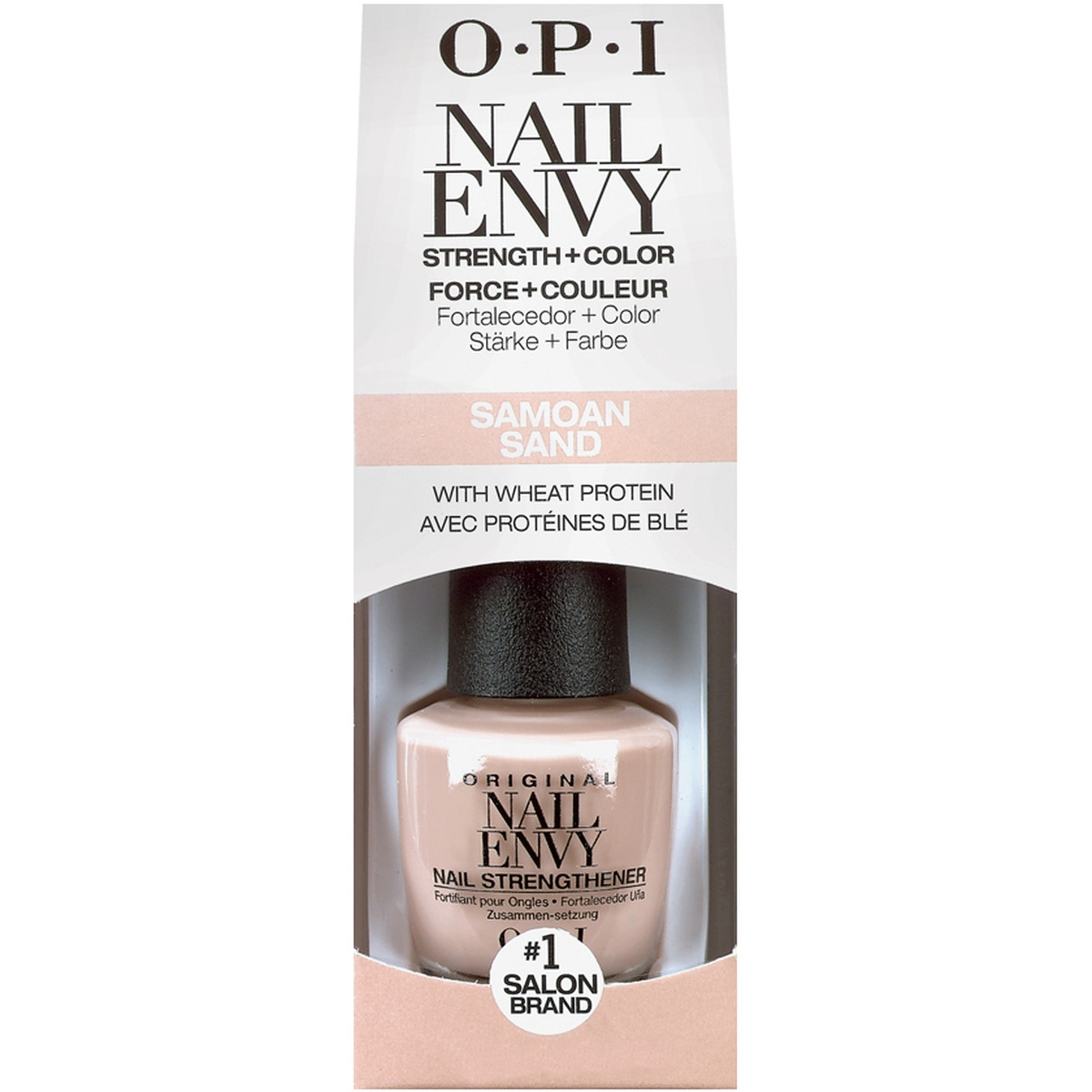 Покрытие лечебное OPI Original Nail Envy Samoan Sand, 15 мл opi nail envy sensitive