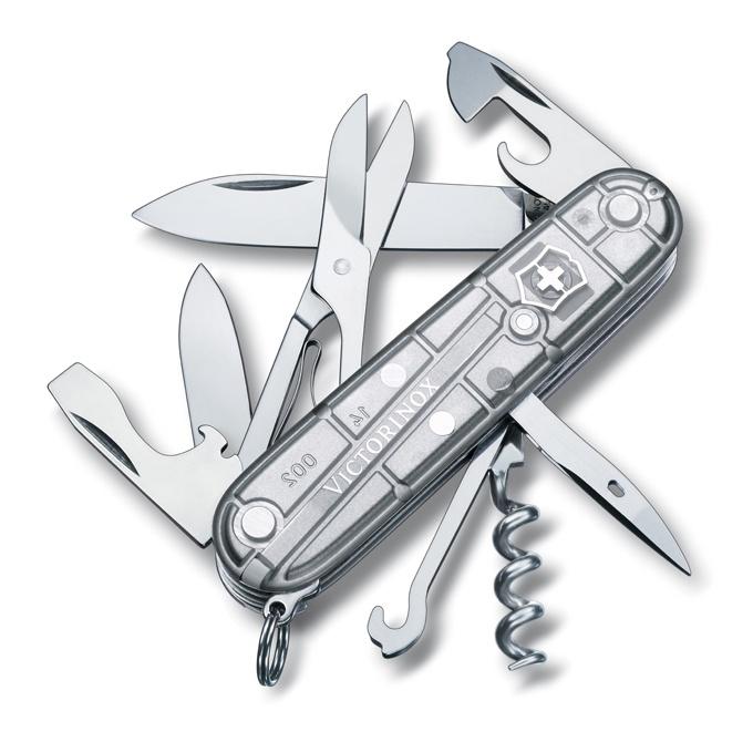 Нож Victorinox Climber, 91 мм, 14 функций, серебристый