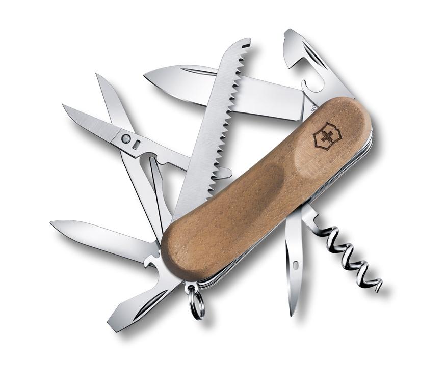Нож Victorinox EvoWood 17, 85 мм, 13 функций, дерево
