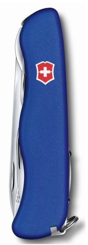 Нож Victorinox Outrider, 111 мм, 14 функций, синий