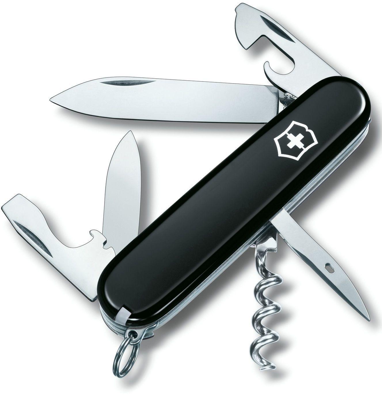 Нож Victorinox Spartan, 91 мм, 12 функций, черный