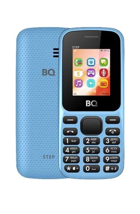 Мобильный телефон BQM-1805 Step Blue мобильный телефон bq 2431 step l dark blue