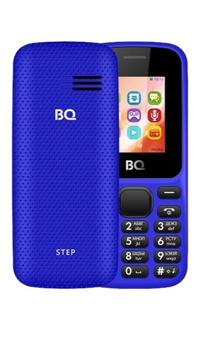 Мобильный телефон BQM-1805 Step Dark Blue телефон 2 сим карты iphone f006