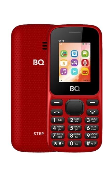 Мобильный телефон BQM-1805 Step Red мобильный телефон bqm 2831 step xl white