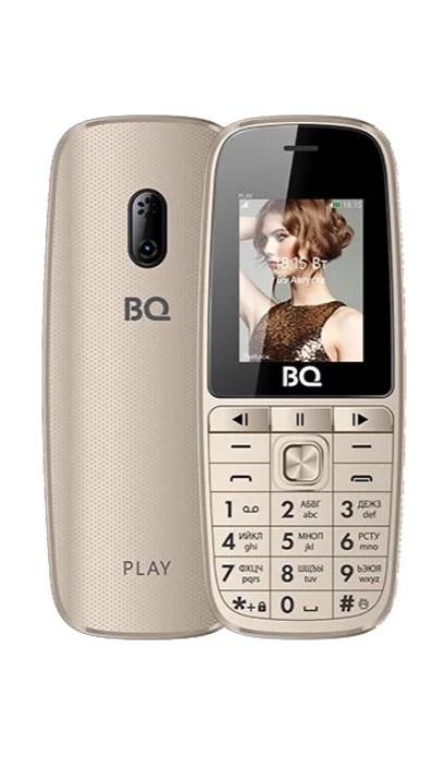 Мобильный телефон BQM-1841 Play Gold телефон explay rio play