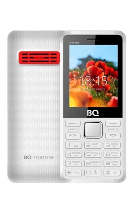Мобильный телефон BQM-2436 Fortune P White Red мобильный телефон bq bq 2436 fortune p black gray