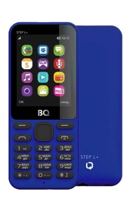 Мобильный телефон BQM-2431 Step L+ Dark Blue мобильный телефон bq 2431 step l black