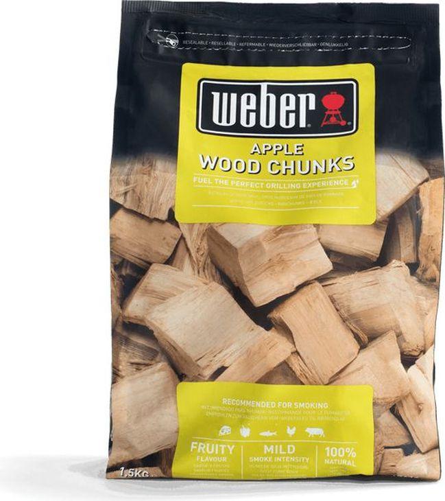 Дрова для копчения Weber Яблоко, 1,5 кг