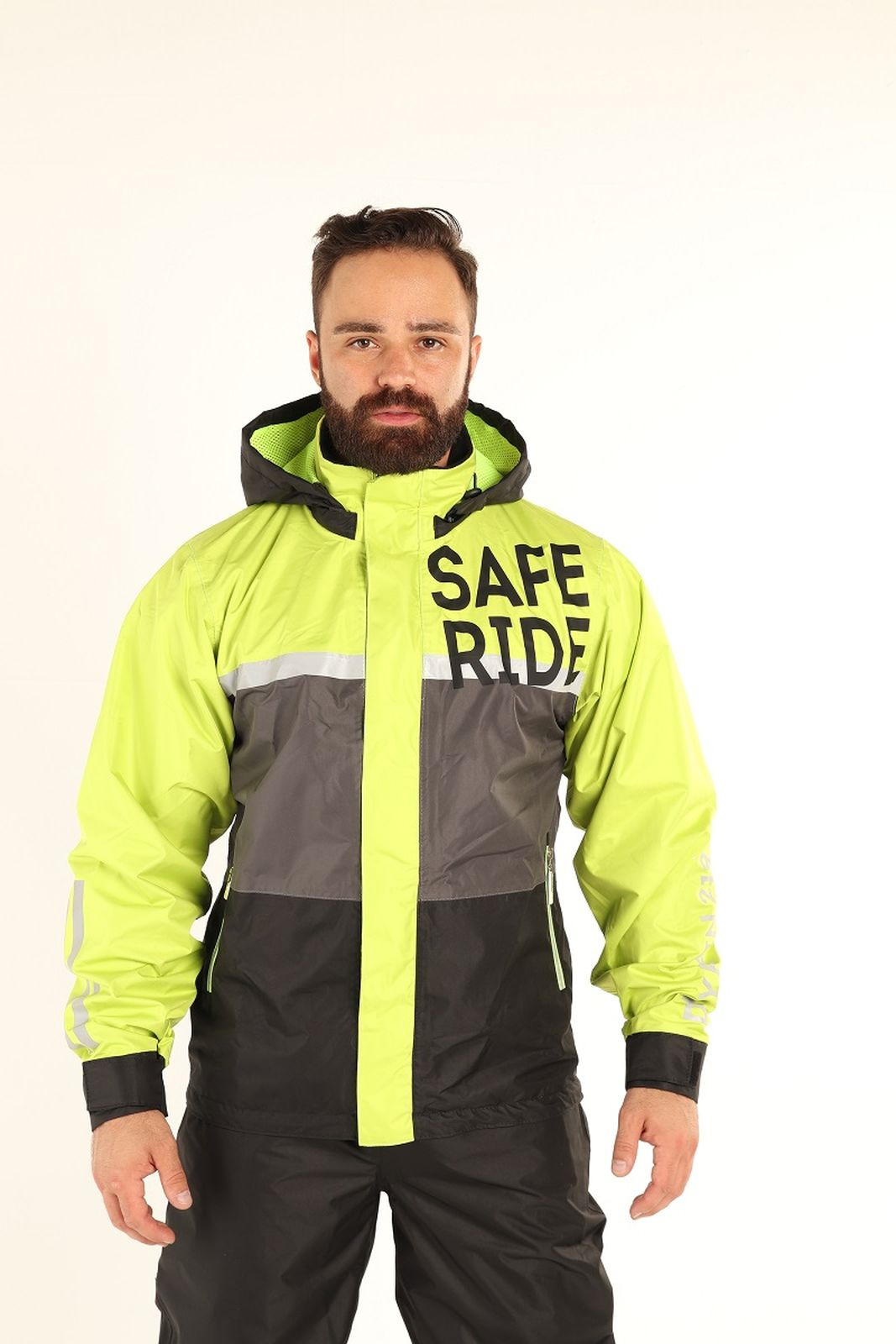 купить Мотодождевик мужской Starks Dry Rain, LC0083, светло-зеленый, размер XL по цене 4990 рублей