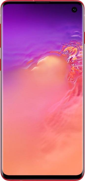 Смартфон Samsung GalaxyS10 8/128GB, красный