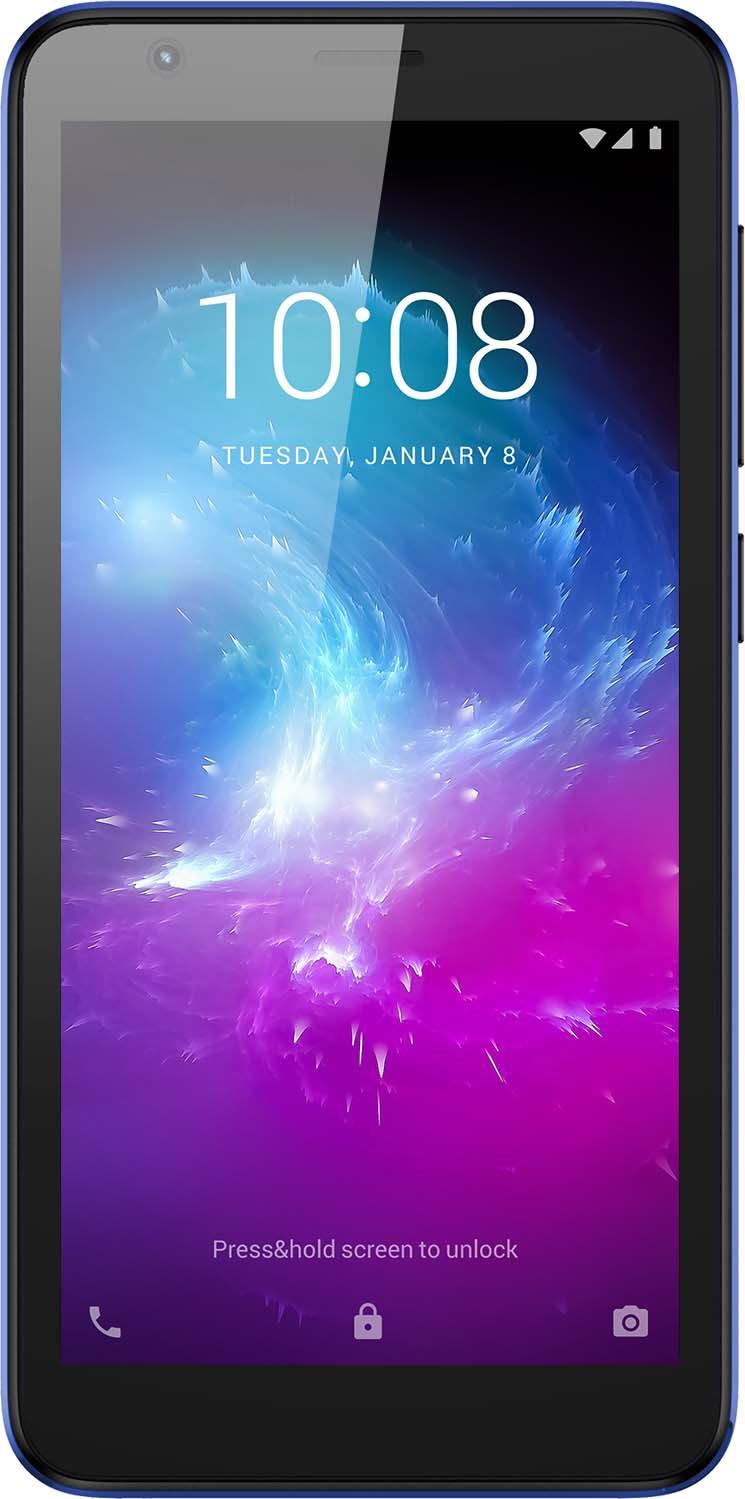 Смартфон ZTE Blade L8 1/16GB, синий смартфон zte blade a 476 чёрный