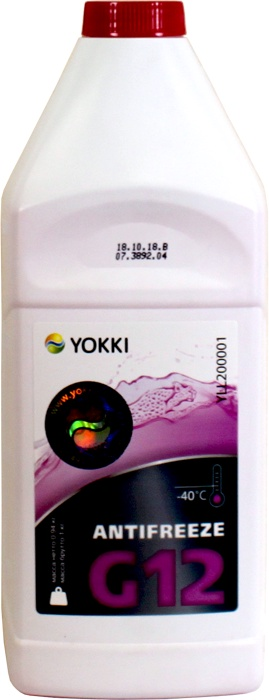 цена Антифриз -40 YOKKI RED G12, 1кг в интернет-магазинах