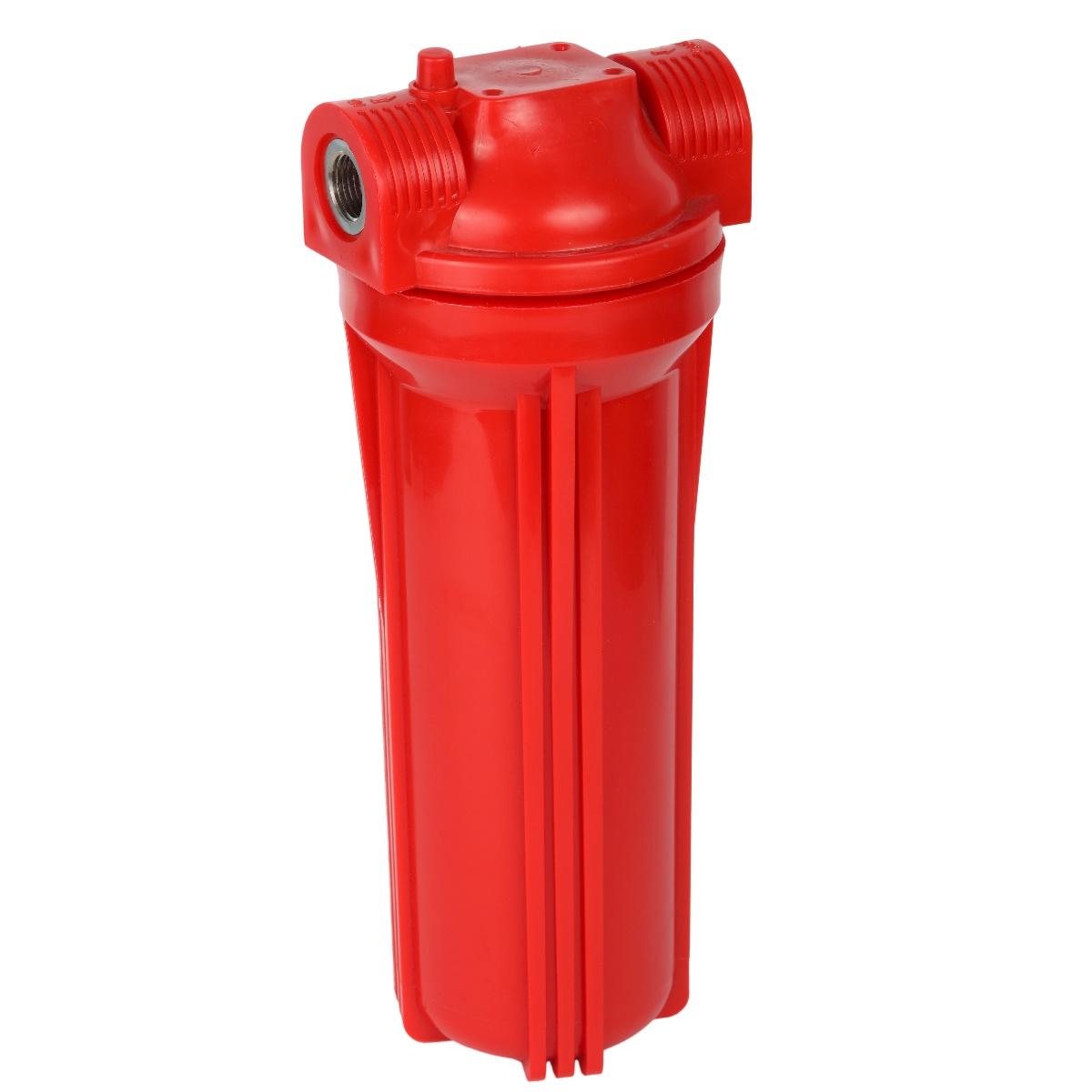 Корпус для горячей воды 10SL - резьба 3/4, с воздушным клапаном АКВАПРО 468