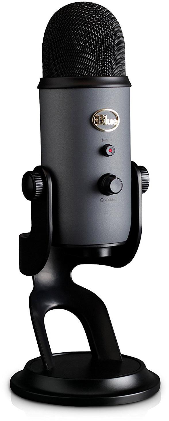 Конденсаторный микрофон Blue Microphones Yeti Slate