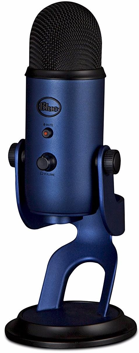 Конденсаторный микрофон Blue Microphones Yeti Midnight Blue