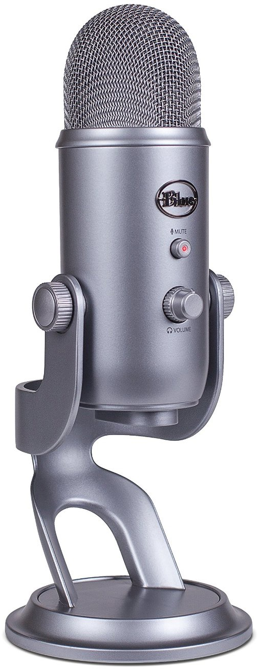 Конденсаторный микрофон Blue Microphones Yeti Cool Grey