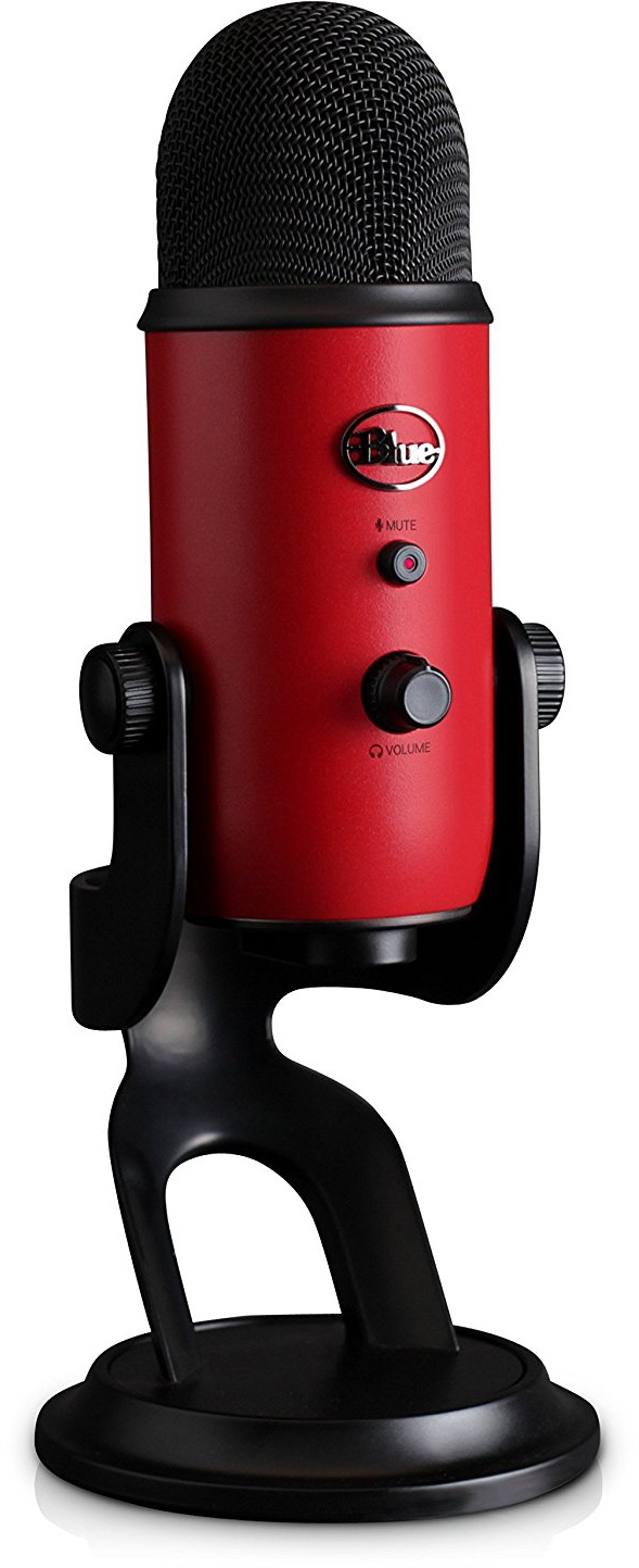 Конденсаторный микрофон Blue Microphones Yeti Satin Red