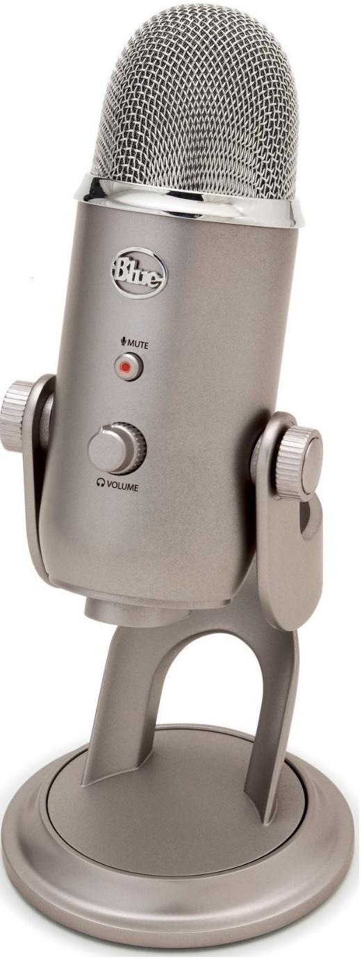 Конденсаторный микрофон Blue Microphones Yeti Platinum