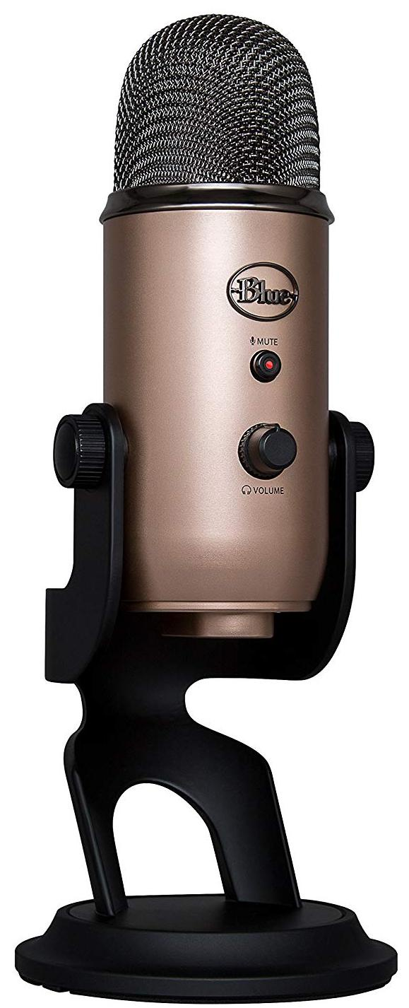 Конденсаторный микрофон Blue Microphones Yeti Aztec Copper