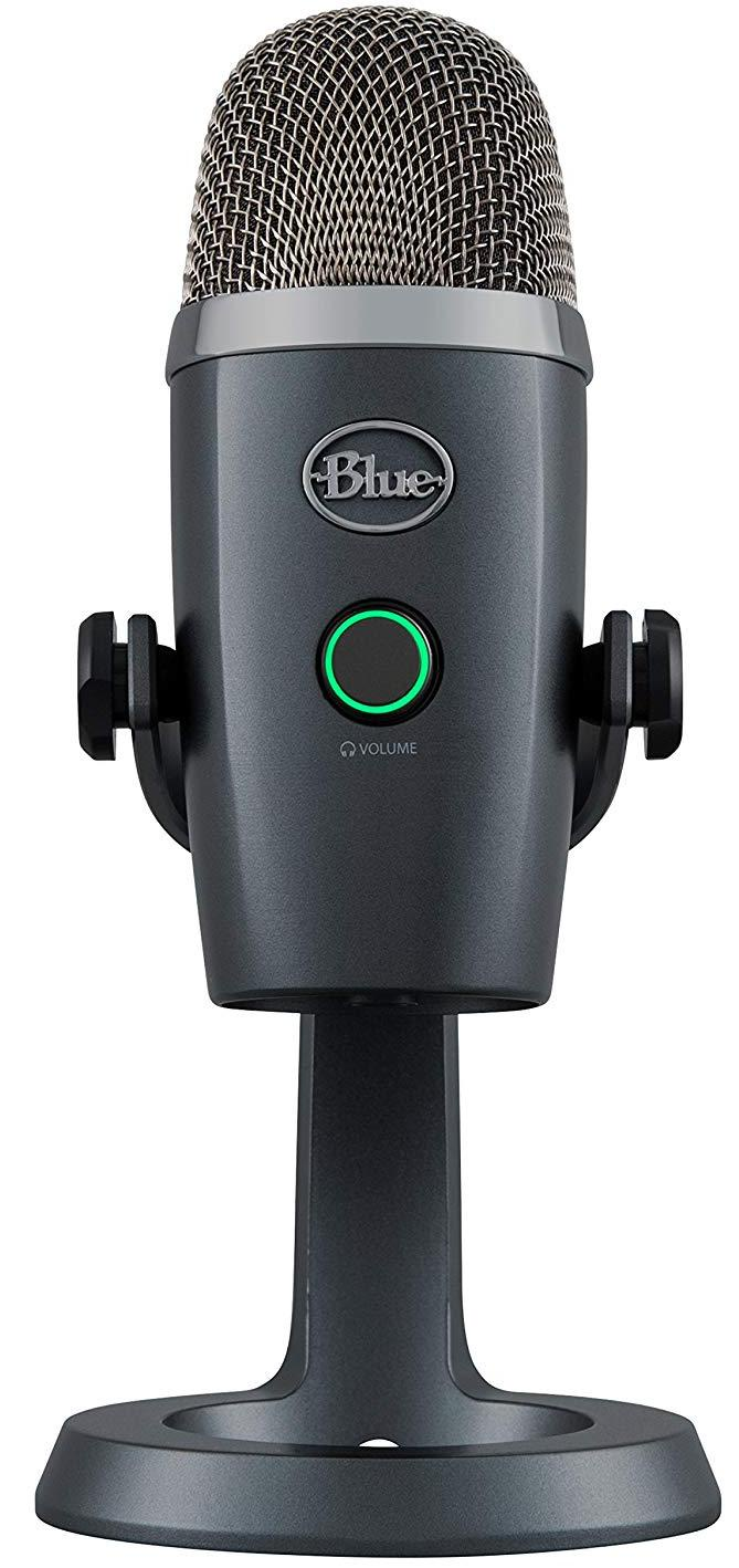 Конденсаторный микрофон Blue Microphones Yeti Nano Shadow Grey