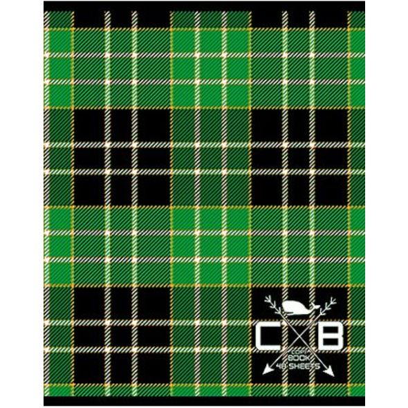 Тетрадь HATBER Шотландка 48 листов в клетку формат А5, 10 ШТ тетради hatber тетрадь вояж а5 48 листов