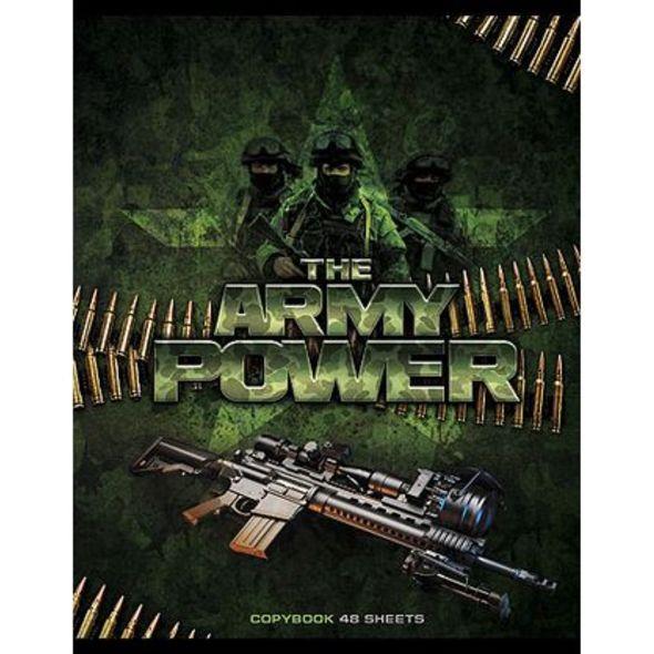 Тетрадь HATBER Military 48 листов в клетку формат А5, 10 ШТ тетради hatber тетрадь вояж а5 48 листов