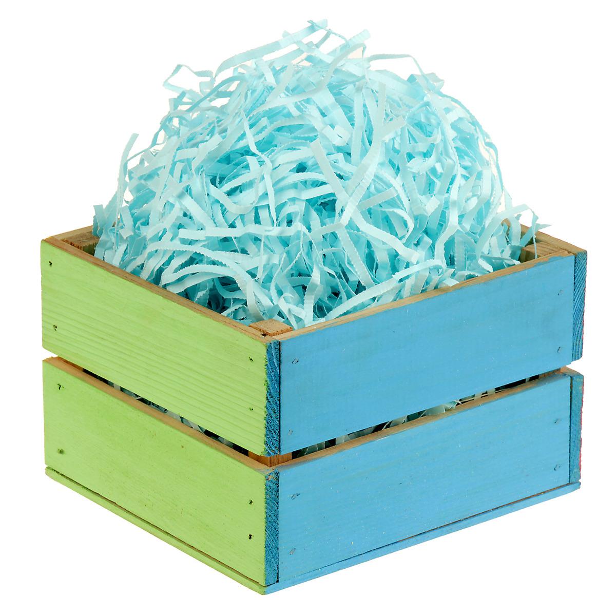 Декоративный наполнитель, 2984409, голубой, 1 кг