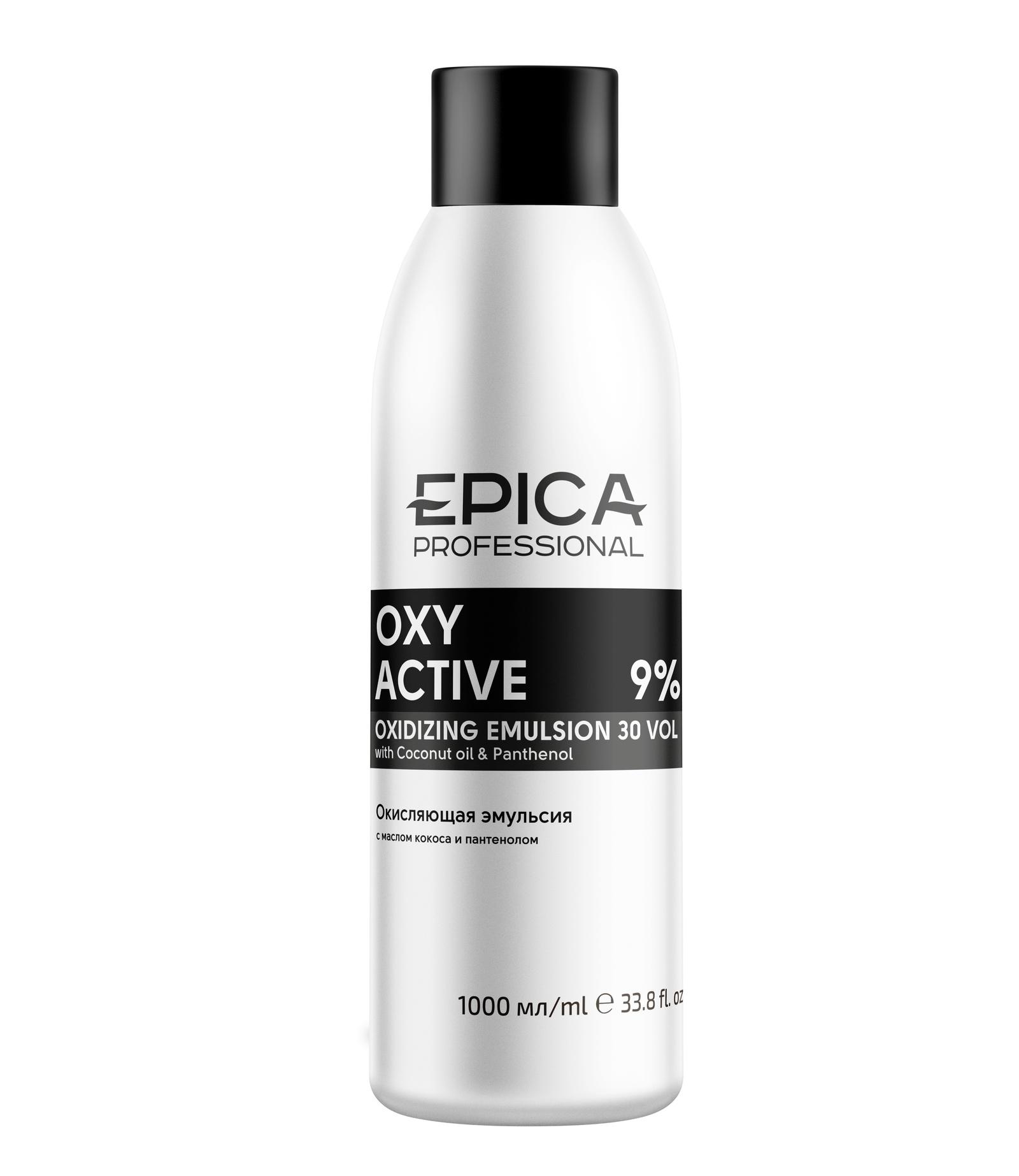 Epica 91237 Кремообразная окисляющая эмульсия 9 % (30 vol) 1000 мл selective professional эмульсия окисляющая специальная 6