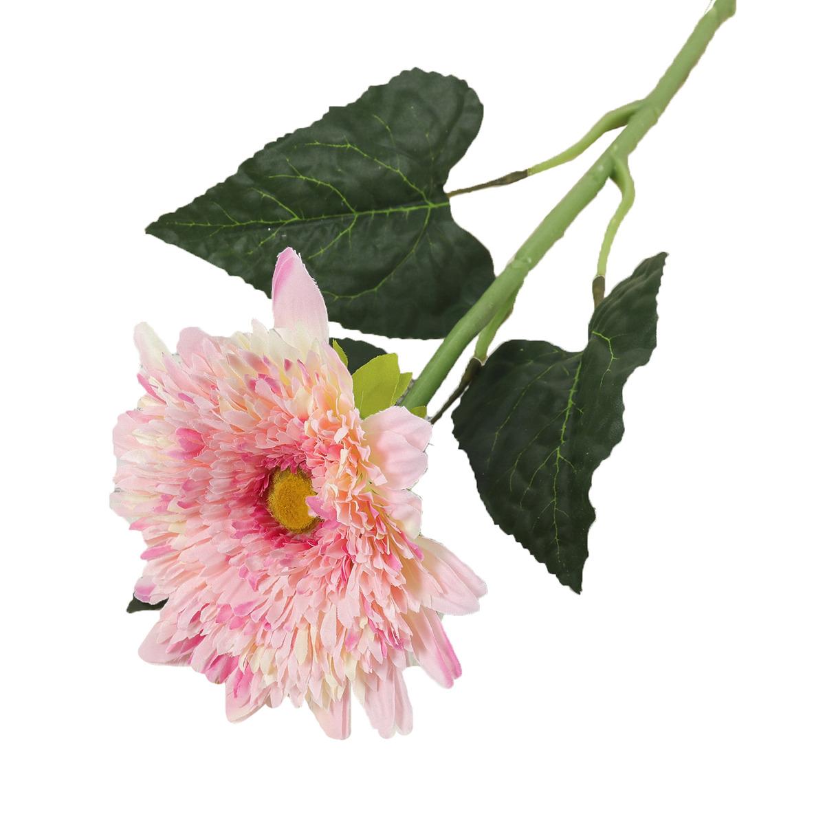 Искусственные цветы Астра, 3004620, розовый, 70 см